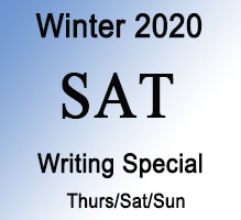 SAT Winter Writing Special