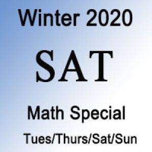 SAT Math Winter Special