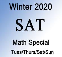 SAT Math Winter Special