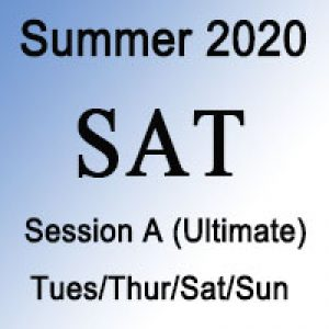SAT Ultimate Summer Session
