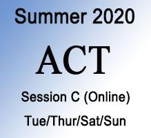 ACT Summer Online Prep Course