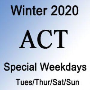 ACT Special Prep Course