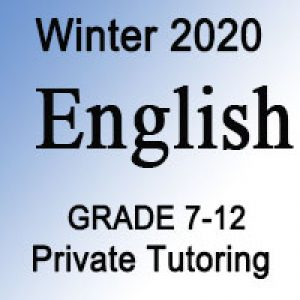 English Private Tutoring