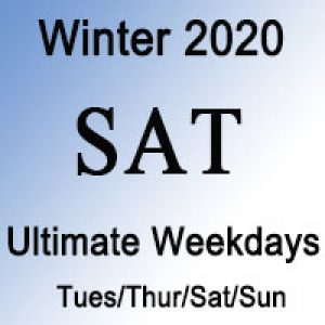 SAT Ultimate Winter Weekdays