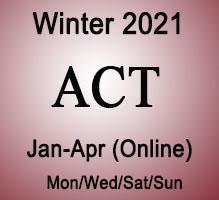 ACT Winter Online Prep Course