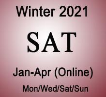 SAT Winter Online Prep Course