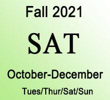 SAT Fall Online Prep Course